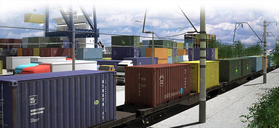 контейнерные железнодорожные перевозки